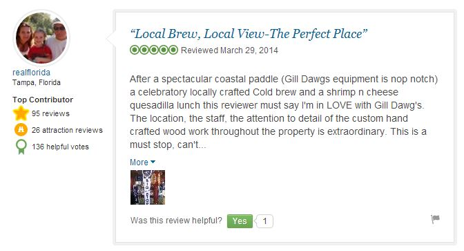 gill dawg trip advisor review port richey florida