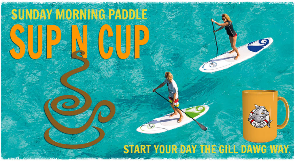 Sunday SUP Paddle Green Key Gill Dawg Port Rich Florida Kayak